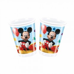 Mickey Playful Plastik Bardak 200cc 8'li