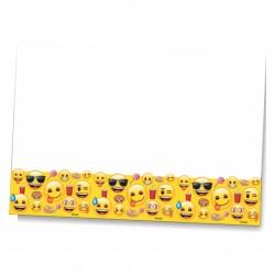 Emoji Dünyası Plastik Masa Örtüsü 120x180 cm