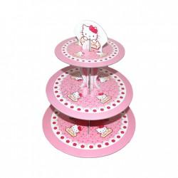 Hello Kitty Lisanslı Cupcake Standı