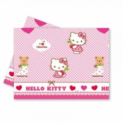 Hello Kitty Plastik Masa Örtüsü 120x180 cm