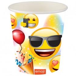 Emoji Parti Karton Bardak 8'li