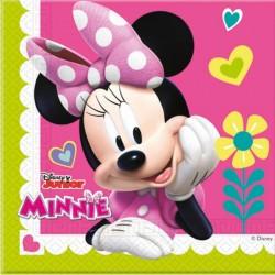 Minnie Mutlu Arkadaşlar Kağıt Peçete 33x33 cm 20'li