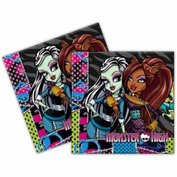Monster High Kağıt Peçete 33x33 cm 20'li