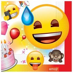 Emoji Parti Kağıt Peçete 33x33 cm 20'li
