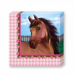 Sevimli At Kağıt Peçete 33x33 cm 20'li