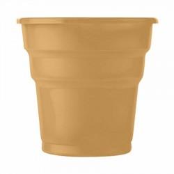 Altın Plastik Meşrubat Bardağı 25'li