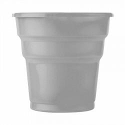 Gümüş Plastik Meşrubat Bardağı 25'li