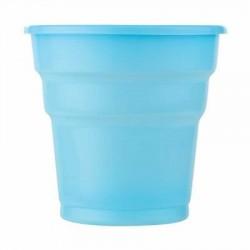 Açık Mavi Plastik Meşrubat Bardağı 25'li