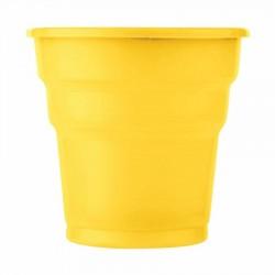 Sarı Plastik Meşrubat Bardağı 25'li