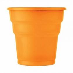 Turuncu Plastik Meşrubat Bardağı 25'li