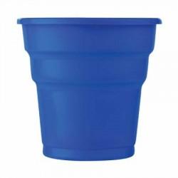 Lacivert Plastik Meşrubat Bardağı 25'li