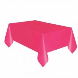 Fuşya Plastik Masa Örtüsü 137x270 cm