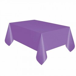Mor Plastik Masa Örtüsü 137x270 cm