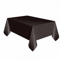 Siyah Plastik Masa Örtüsü 137x270 cm