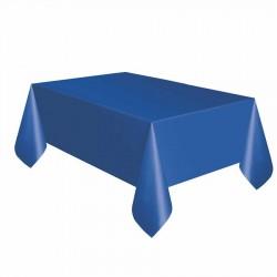 Lacivert Plastik Masa Örtüsü 137x270 cm