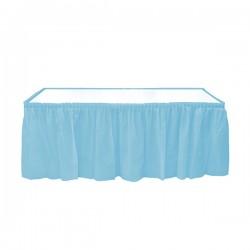 Mavi Plastik Masa Eteği 75x426 cm