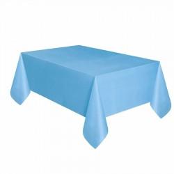Mavi Plastik Masa Örtüsü 137x270 cm