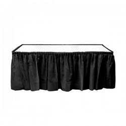Siyah Plastik Masa Eteği 75x426 cm
