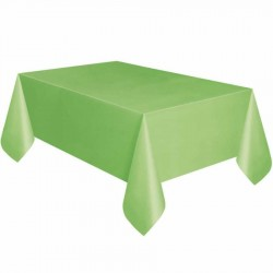 Yeşil Plastik Masa Örtüsü 137x270 cm
