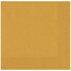 Altın Kağıt Peçete 33x33 cm 20'li