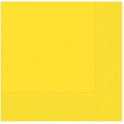 Sarı Kağıt Peçete 33x33 cm 20'li