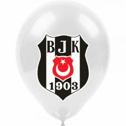 Beşiktaş Lisanslı Baskılı Balon 100'lü