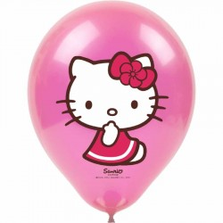 Hello Kitty Baskılı Balon 100'lü