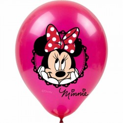 Minnie Mouse Baskılı Balon 100'lü