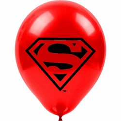 Superman Baskılı Balon 100'lü