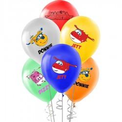 Harika Kanatlar Baskılı Pastel Balon 100'lü