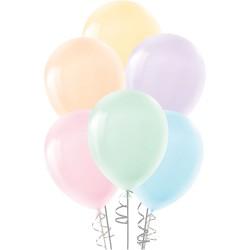 """Makaron Balon Karışık Renk 12"""" 100lü"""