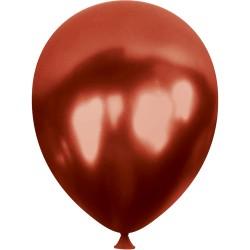 Metalik Bordo Balon 100'lü