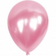 Metalik Açık Pembe Balon 12'li