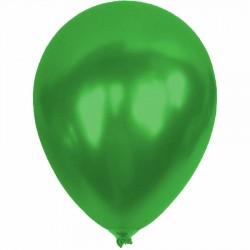Metalik Açık Yeşil Balon 12'li
