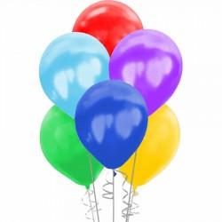 Metalik Rengarenk Balon 100'lü