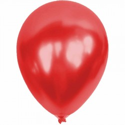 Metalik Kırmızı Balon 12'li