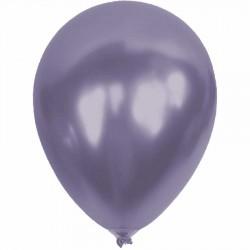 Metalik Lila Balon 12'li