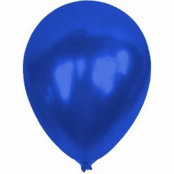 Metalik Mavi Balon 12'li