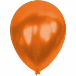 Metalik Turuncu Balon 12'li