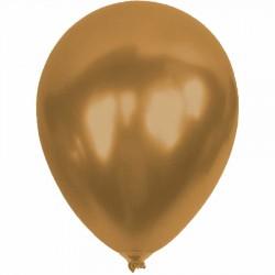 Metalik Altın Balon 12'li