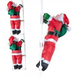 Yılbaşı Merdivene Tırmanan Noel Baba 2'li 95 cm