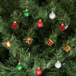 Yılbaşı Çam Ağacı Süsleme Seti Renkli Toplar 26'lı