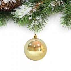 Yılbaşı Çam Ağacı Süsü Altın Top 6 cm 6'lı