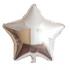 Gümüş Yıldız Folyo Balon 60 cm