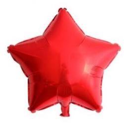 Kırmızı Yıldız Folyo Balon 46 cm