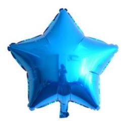 Mavi Yıldız Folyo Balon 46 cm