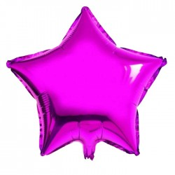 Mor Yıldız Folyo Balon 46 cm